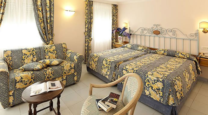 Hotel Continental Terme - Camere