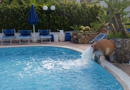 Hotel Felix Terme - Piscina Scoperta