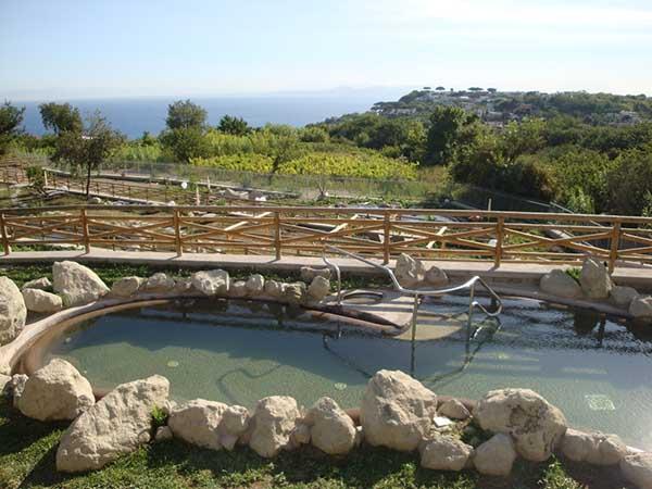 Hotel Grazia Terme - Piscine Scoperte