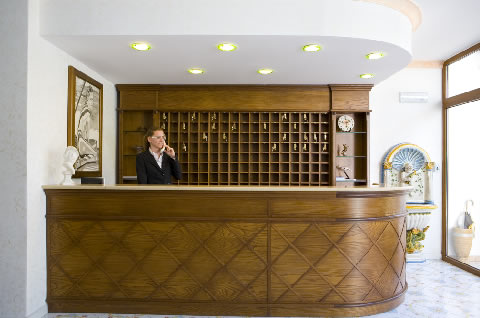 Hotel Nausicaa - Reception