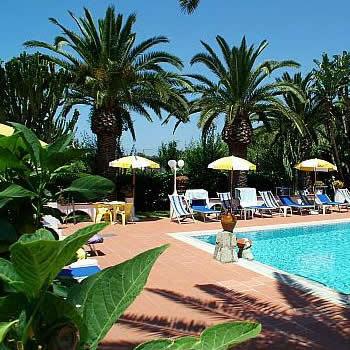 Hotel Park Calitto - Piscina Scoperta