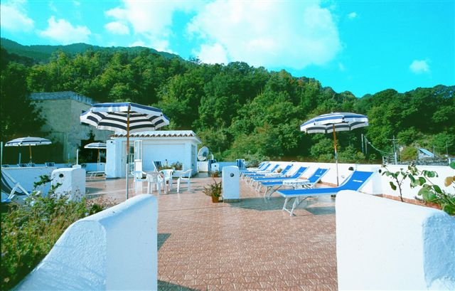 Hotel Stefania Terme - Terrazza