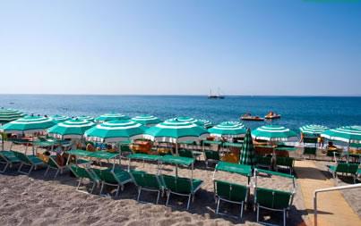 Hotel Terme Smeraldo - Spiaggia Privata