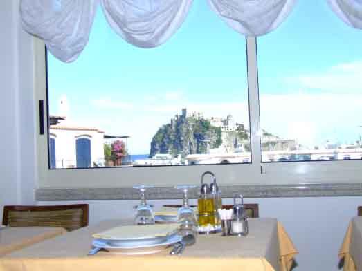 Hotel Ulisse - Sala Ristorante