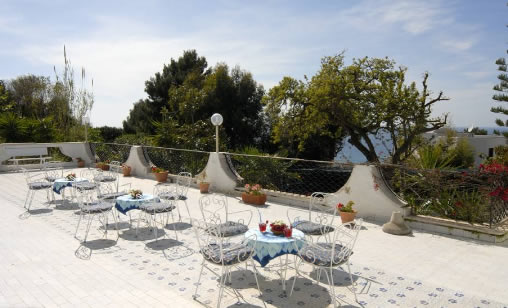 Parco Hotel Terme Villa Teresa - Terrazza