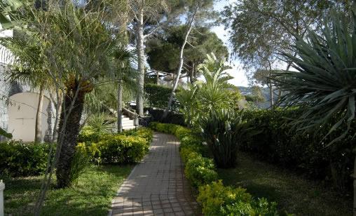 Parco Hotel Terme Villa Teresa - Giardino