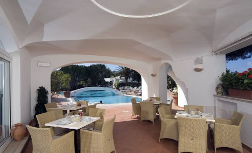 Parco Hotel Terme Villa Teresa - Sala Ristorante