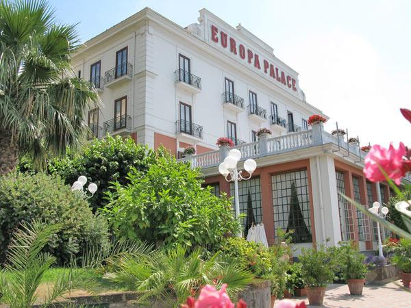 Grand Hotel Europa Palace Sorrento Hotels Naples